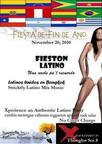 FIESTON LATINO at XPERIENCE