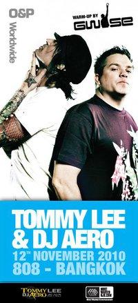 Tommy Lee & DJ Aero LIVE in Bangkok at Club 808