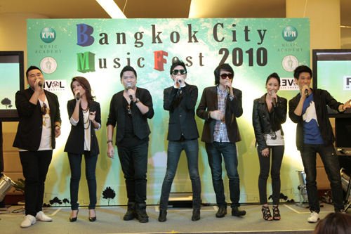 Bangkok City Music Fest 2010