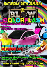 COLORFLASH @ BLOW