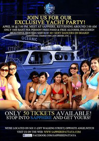 Sapphire Yacht Party
