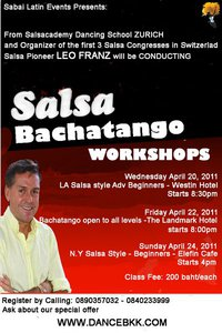 Salsa Workshops
