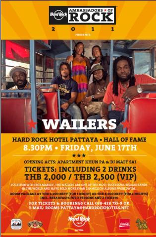 Pattaya with The Wailers